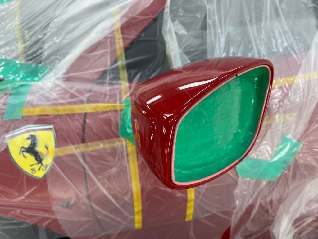 Ferrari 488 Spider プロテクションフィルム施工