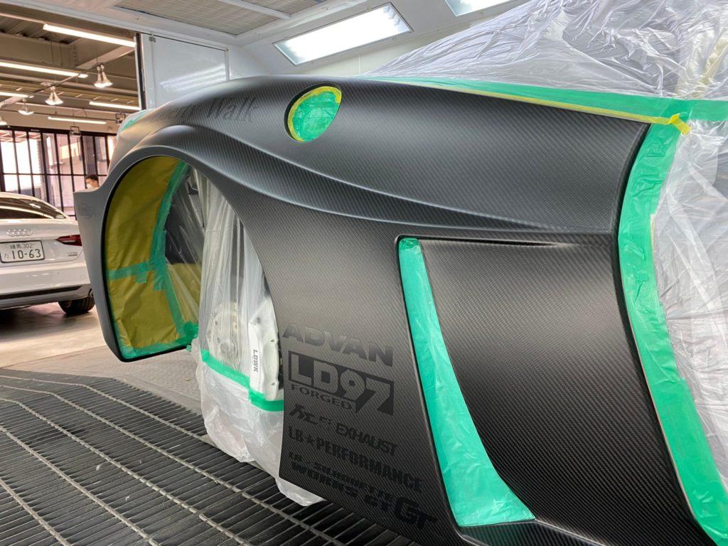 LB Ferrari458×CarmakeArtPro
